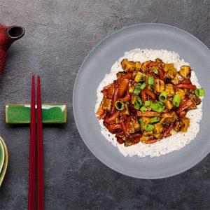 tofu general tao vegan