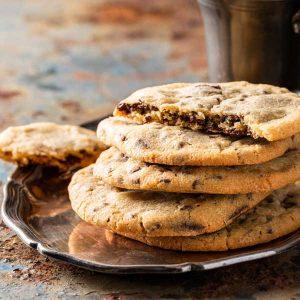 Biscuits au chocolat vegan