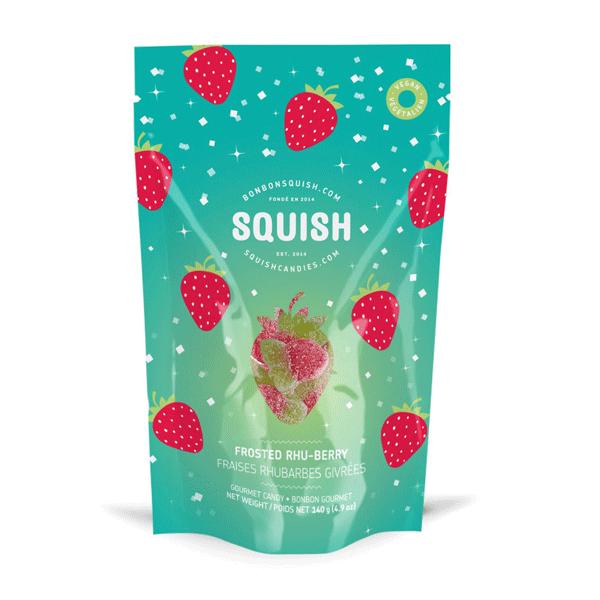 bonbons squish rhubarbes givres