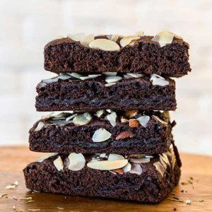 brownie vegane