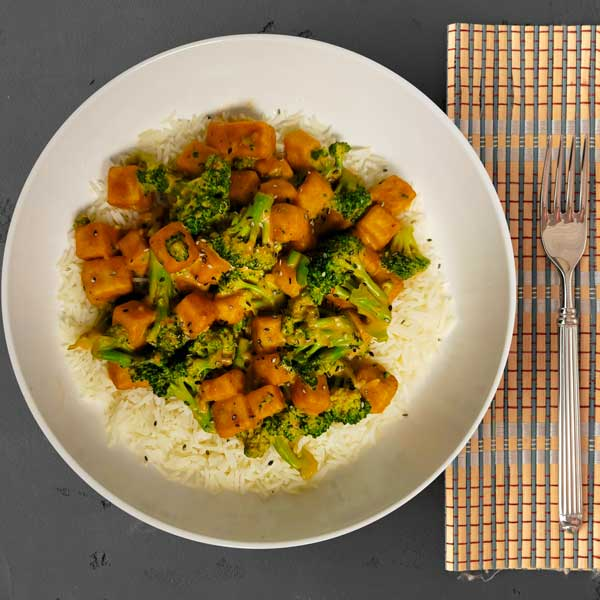 Repas préparés Végétalien